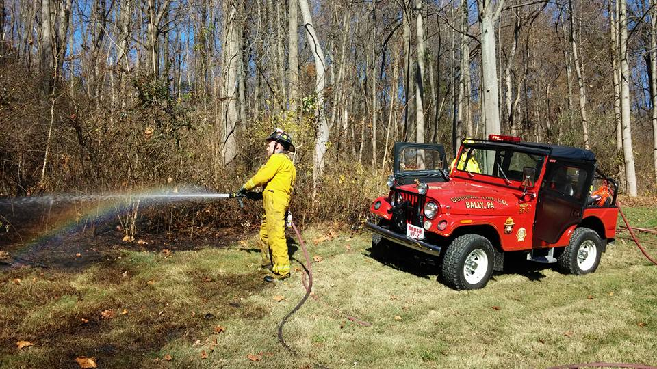 STILL Another Brush Fire in District